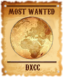 most wanted DXCC